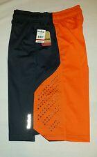 REEBOK Men's Basketball Shorts Sz Small Orange/Gray NEW w/TAGS NIRO RM115025001