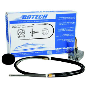 UFlex Rotech 15' Rotary Steering Package - Cable, Bezel, Helm