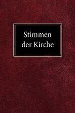 Stimmen der Kirche by Martin H. Bertram (1961, Paperback)