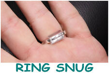 RING CLIPS / TUBES / SNUGS. PACK OF 5 NO FUSS FAST EASY WAY TO MAKE RINGS FIT .