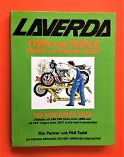 LAVERDA JOTA/3C/1200/MIRAGE/750SF FACTORY APPROVED HISTORY/SPEC/MAINTENANCE BOOK