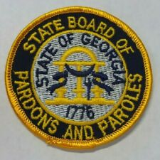 "OLD GEORGIA STATE BOARD OF PARDONS AND PAROLES 3"" PATCH UNUSED"