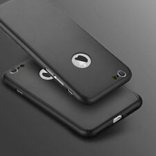 New ShockProof 360 Hybrid Silicone Case Cover for Apple iPhone X 8 7 6S Plus