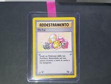 Carta Pokemon ADDESTRAMENTO Mr Fuji 58/62 Set Fossil Prima Edizione no Charizard