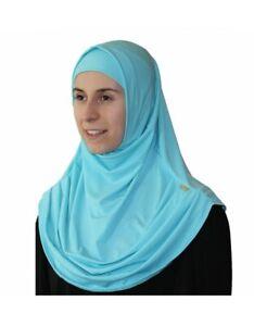 Plain Scarf and Luxury Bonnet Hijab
