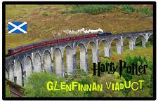 GLENFINNAN VIADUCT, SCOTLAND - SOUVENIR NOVELTY FRIDGE MAGNET - SIGHTS / GIFTS