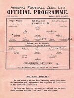 Football Programme Cover Reprints (A)
