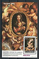 Bolivien Block 126 postfrisch / Gemälde - Rubens .........................2/2422