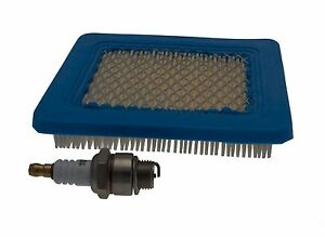 Air Filter / Spark Plug Fits HAYTER HARRIER 41, 48, 56 With Quantum Engine