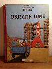 Ancien TINTIN Dos Toilé OBJECTIF LUNE EO BELGE B8-1953
