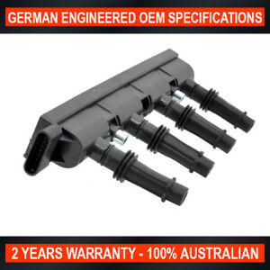 Swan Ignition Coil Pack & NGK Spark Plugs for Holden Barina RS Cruze Trax 1.4L T