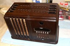 "AIRLINE 62-288 ""MIRACLE"" AM RADIO BAKELITE CABINET ONLY 1939"