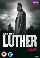 Luther Complete Series 3 DVD All Episodes Third Season Original UK Release New