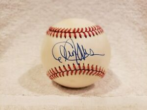 VINTAGE Cleon Jones AUTO'D ONL (Giamatti) Baseball, 1969 New York Mets, NICE!