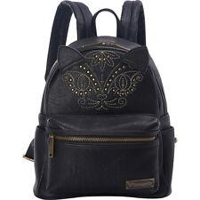 Loungefly Cat Mini Faux Leather Backpack - Black Backpack Handbag NEW