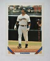 2017 Topps Rediscover Stamped Buyback 1993 #140 Gary Sheffield