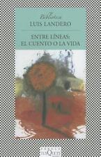 Entre lineas: el cuento o la vida (Fabula / Fable) (Spanish Edition)-ExLibrary