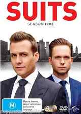 Suits : Season 5 (DVD, 4-Disc Set) NEW