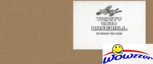 2020 Leaf Trinity Baseball Factory Sealed 12 box HOBBY Case-72 ROOKIE AUTOGRAPHS