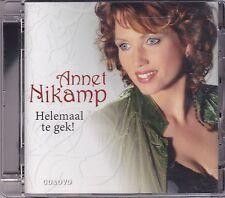 Annet Nikamp-Helemaal Te Gek cd +Dvd Album