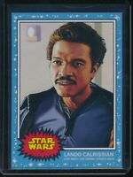 2019 Topps Star Wars Living Set #17 Lando Calrissian SP The Empire Strikes Back