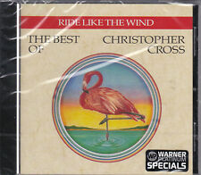 CD 12T RIDE LIKE THE WIND THE BEST OF CHRISTOPHER CROSS DE 1992 NEUF SCELLE