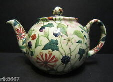 1 Heron Cross Pottery Hedgerow Chintz English 3 Cup Tea Pot or 2 mugs