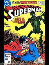Superman #1 (1987 2nd Series) Mint Condition_Never Read