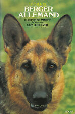 Livre le chien de berger allemand Philippe de Wailly book
