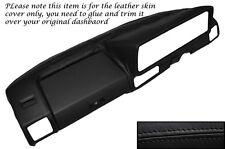 BLACK STITCH DASH DASHBOARD LEATHER SKIN COVER FITS VW GOLF MK1 JETTA 1974-1983
