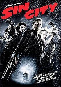 Sin City (DVD, 2006) Jessica Alba, Bruce Willis Brand New Sealed