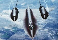 Colonel WALTER L WATSON Signed 12x8 Photo. Area 51. SR71 BLACKBIRD PILOT COA