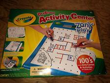 Crayola Dry-Erase Activity Center Zany Play-Never Opened