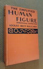 The Simplified Human Figure by Adolfo Best-Maugard (1936, Hardcover) First Editi