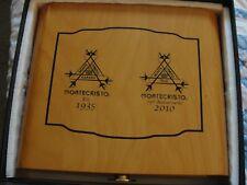 Montecristo Humidor - 75th Anniversary Wooden Sampler Box - 2010 NEW IN BOX