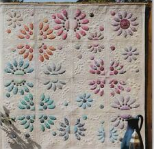 Divided Blooms - Applique Quilt Pattern 8 Piece Acrylic Template Set