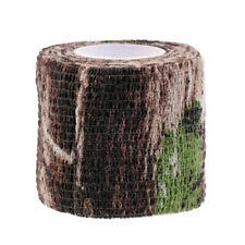 Elastic Camouflage Fabric Tape Camo   Tape 220x5CM Hiking Camp Hunting