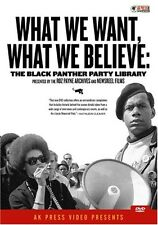What We Want, What We Believe: The Black Panther Party  (2006, REGION 0 DVD New)