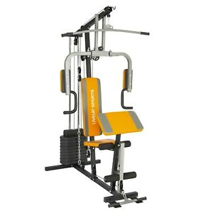 Bravich Single Station Home Multi Gym with Weight for Workout, Muscle Building