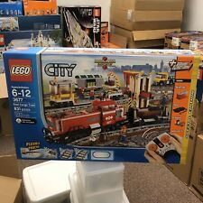 LEGO City Red Cargo Train 3677 RC Power Functions Set 2011 RARE New Sealed MISB