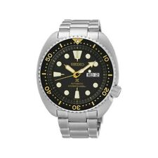 Seiko Black with Gold Turtle Prospex Diver's Men's Watch