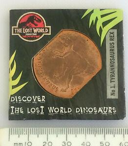 Collectable Lost World Dinosaurs Jurrasic Park Tetley No1 Tyrannosaurus Rex