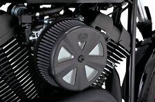 Vance & Hines Skullcap Crown Black VO2 Air Filter Cover 71019