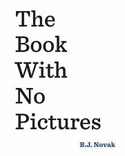 The Book With No Pictures by NOVAK B.J ( New Paperback Book)