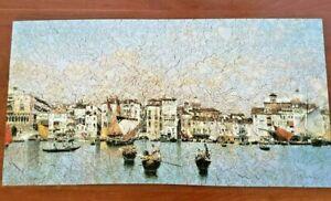 """Liberty Jigsaw Puzzle """"Riva Degli Schiavoni"""" by Martin Rico y Ortega 517 Pieces"""