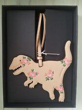 Coach Rexy Bag Charm floral NWT Dinosaur with box Beechwood ornament tag