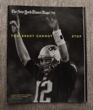 >Orig. 2/1/15 New England Patriots TOM BRADY on cover: NEW YORK TIMES MAGAZINE