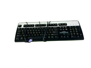 Computer Keyboard PS/2 Serial PC HP English Wired KB-0316 l SK-2880