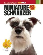 BOOK SB Animal Welfare League Benefit Pets Dogs Pets MINIATURE SCHNAUZER