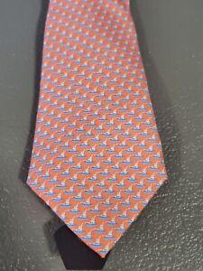 Vineyard Vines Boys Boat Tie NWT Peach Color Easter Tie